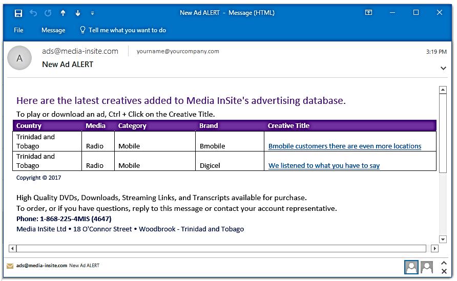 Media InSite Ltd | SpotLight™ 3