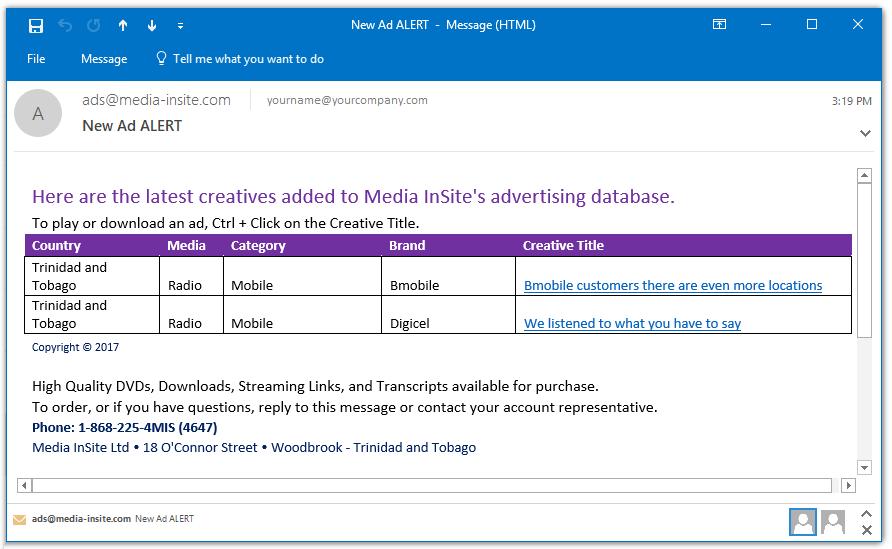 Media InSite Ltd   SpotLight™ 3
