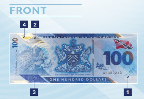 Top Four Facts about Trinidad and Tobago's New $100 Bill