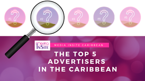 Who are the top 5 advertisers in the Caribbean?