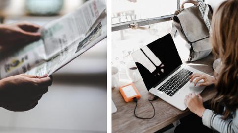 Online vs Offline Media. Why Not Both?