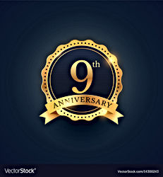 9th-anniversary-celebration-badge-label-