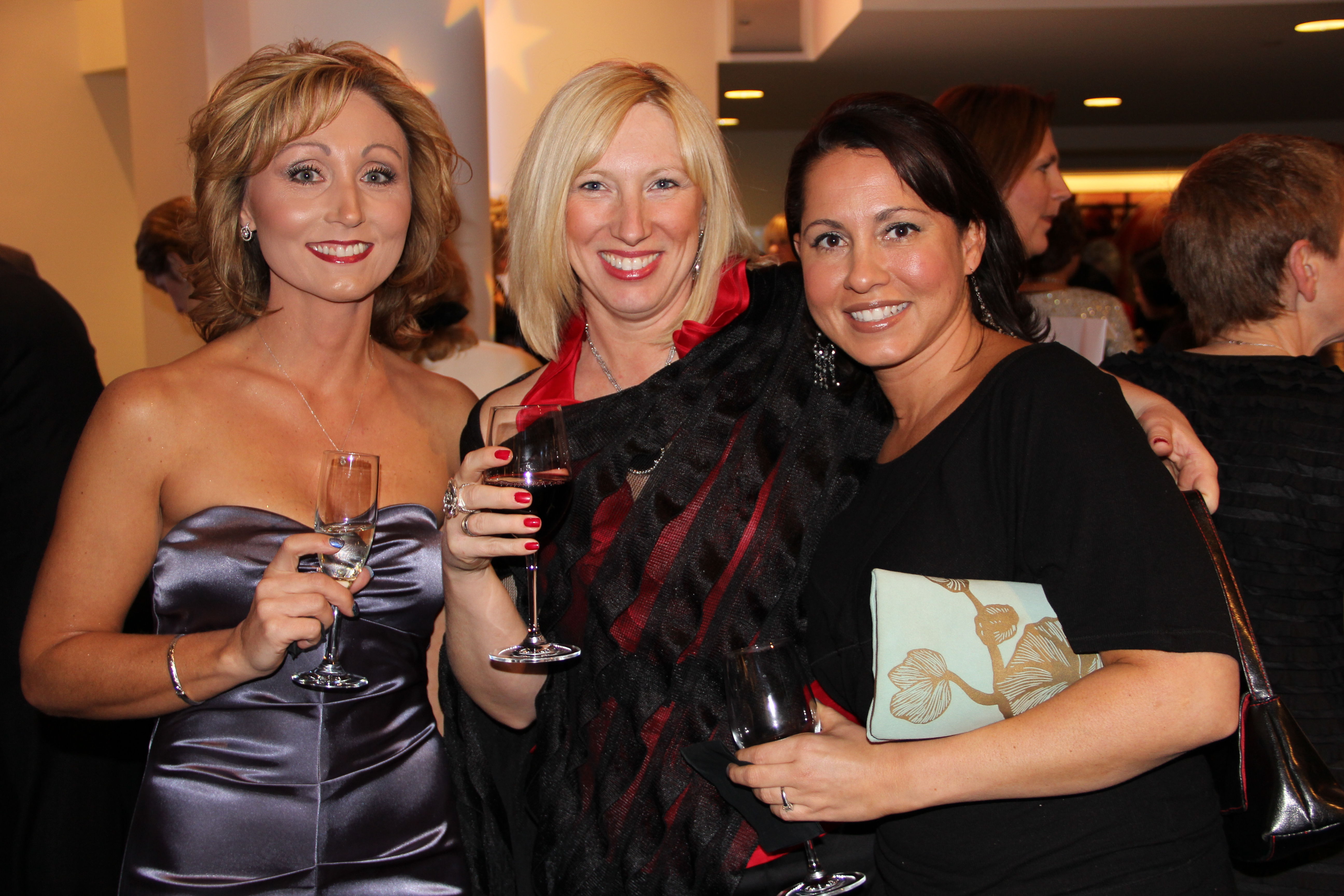 Trio of Glam Gals at MB2012