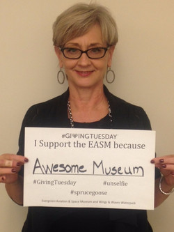 #GivingTuesday Nov. 2015 at Evergreen Space & Aviation Museum Fundraising on a Mission_edited