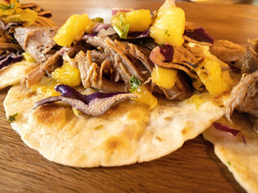 Slow Roasted Pork Tacos with Pineapple Salsa