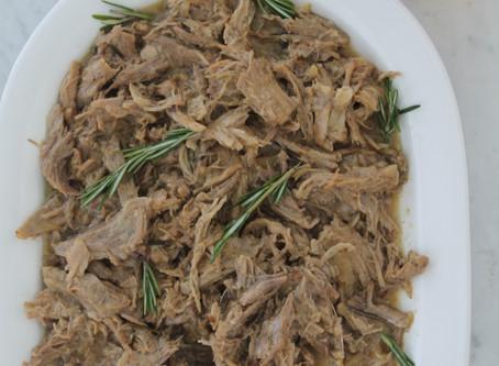 Cider Braised Pulled Pork