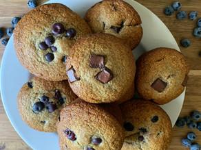 Banana Tahini Muffins