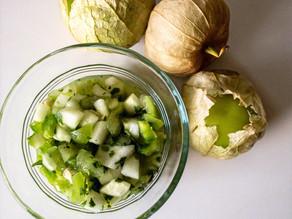 Cucumber & Tomatillo Salsa