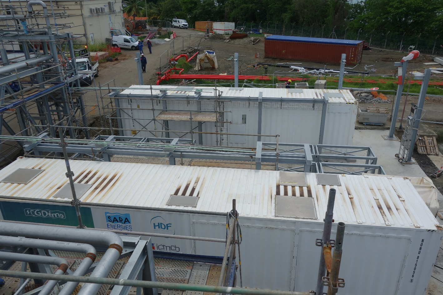 Implementation of the fuel cell