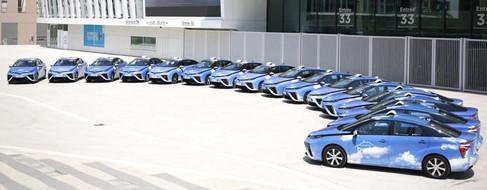 Una flota de 600 taxis de hidrógeno circula en París desde 2020