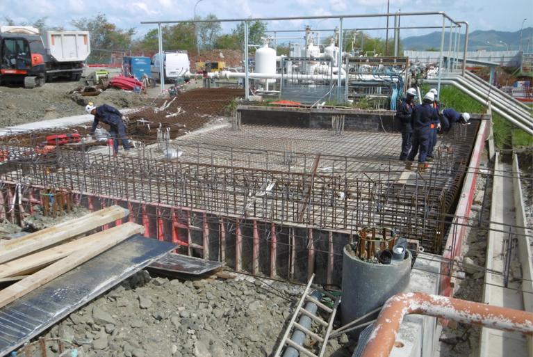 Preparation of M1 iron reinforcement