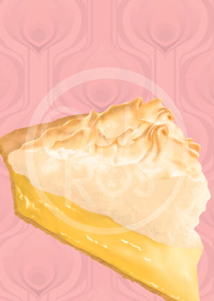 Lemon Meringue Pie Print