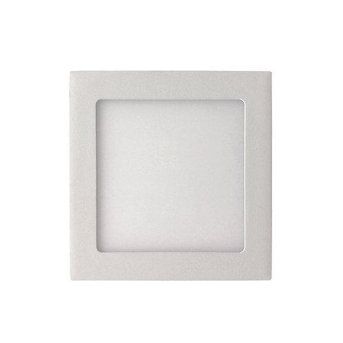 Plafon Sobrepor 12W Quadrado - 17x17cm - Bivolt