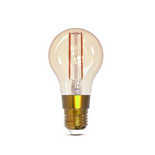 Lâmpada Inteligente Filamento Bulbo Dimerizável Smart 1800k a 2400K