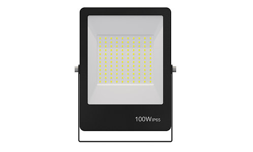 Refletor Ultrafino LED 100W Verde 800Lumens - Bivolt