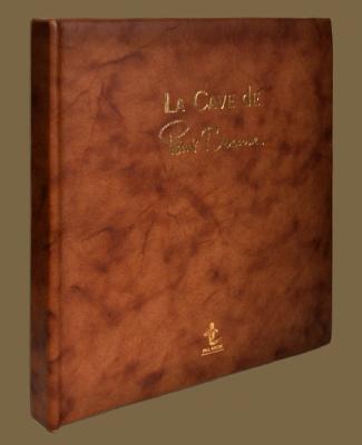 Livre de Cave cuir véritable