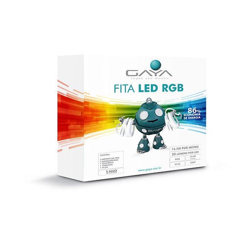 KIT FITA LED RGB 5M