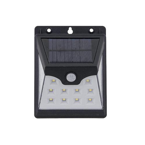 Luminária Solar LED Sensor de Presença e Luz Balizador