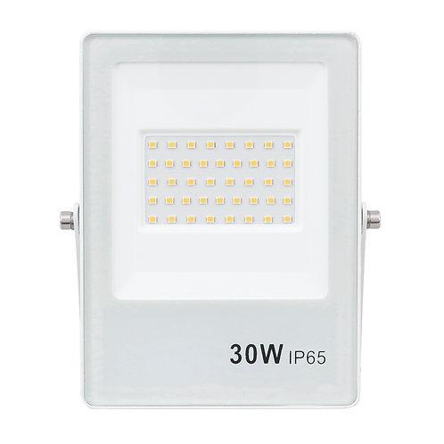 Refletor Ultrafino LED Bivolt Branco 6500K 100W 8000 Lúmens