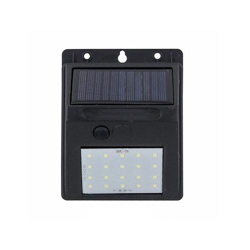 Luminária Solar Sensor de Luz Balizador 20 Leds
