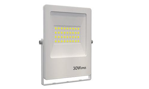 Refletor Ultrafino LED 30W 3000K 2400Lumens - Bivolt