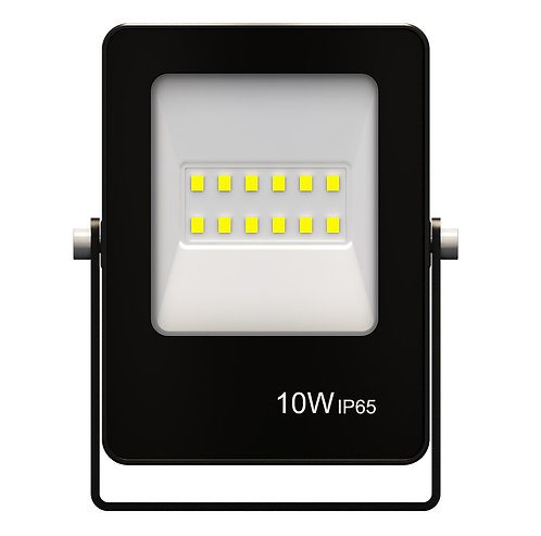 Refletor Ultrafino LED 10W Verde 800Lumens - Bivolt