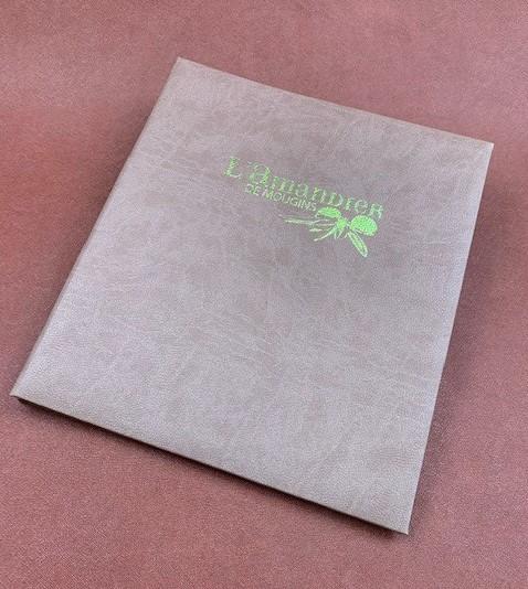 Amaretto impression vert anis Amandier