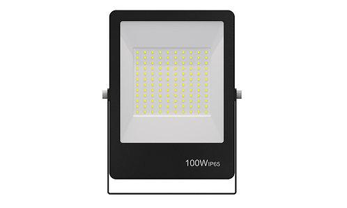 Refletor Ultrafino LED 100W 6500K 800Lumens - Bivolt