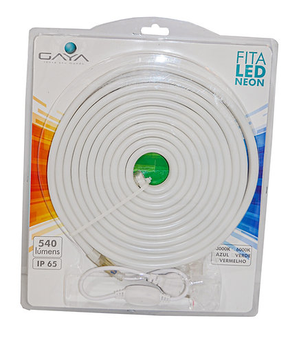 Kit Fita LED Neon 5 Metros + Acessórios