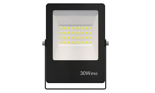 Refletor Ultrafino LED 30W Verde 2400Lumens - Bivolt