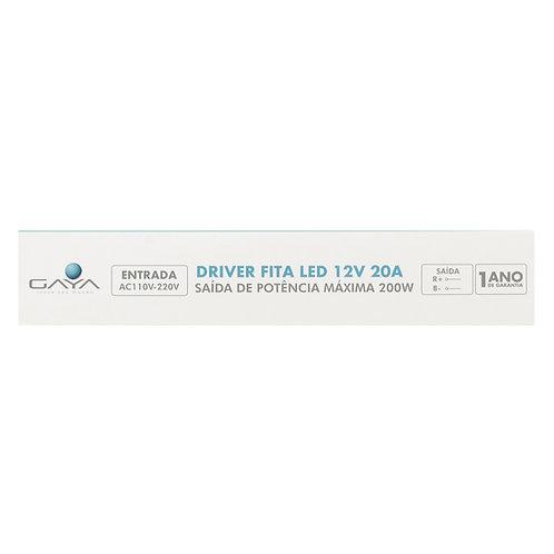 Driver Slim 12V 20A 200W