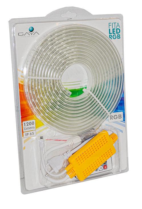 Kit Fita LED RGB 5 Metros + Acessórios