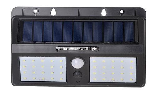 Luminaria Solar Dupla Com Sensor 8W