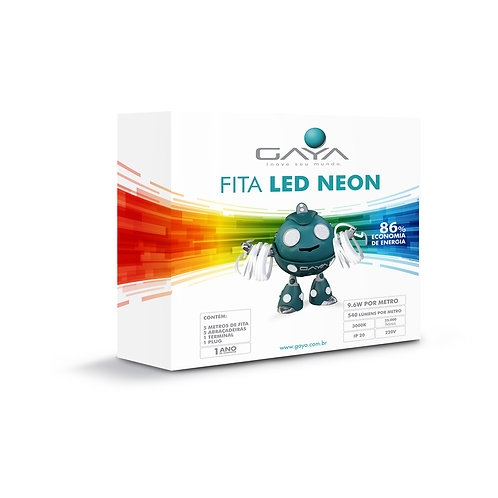 KIT FITA LED NEON 5M