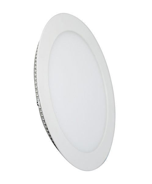 Painel Embutir 12W Redondo - 17x17cm
