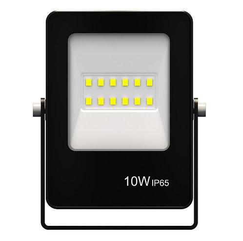 Refletor Ultrafino LED 10W 6500K 800Lumens - Bivolt