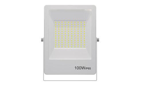 Refletor Ultrafino LED 100W 3000K 800Lumens - Bivolt