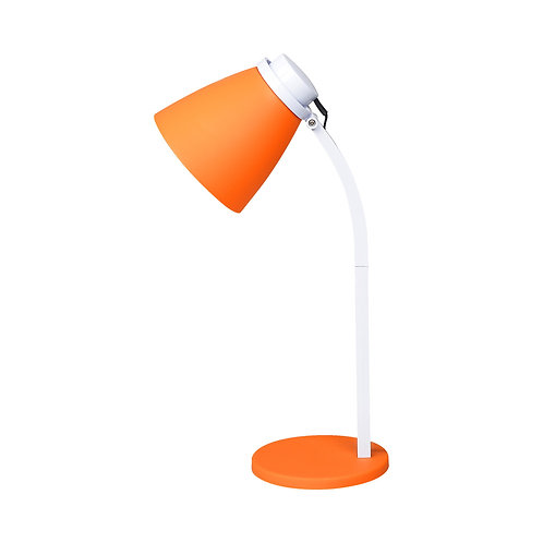 Luminária de Mesa LED LARANJA - 4W 5000k - Bivolt - 320lumens