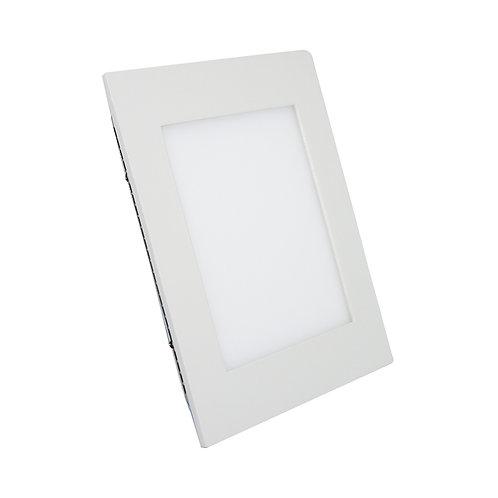 Painel Embutir 6W Quadrado - Bivolt - 11x11cm
