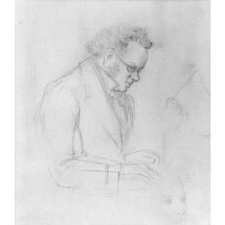 Schwind: Schubert am Klavier