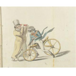 Kupelwieser: The Kaleidoscope and the Draisine, 1818