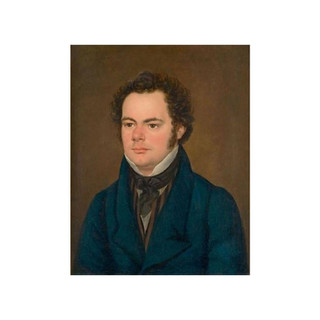 Eybl?: Oil painting of Schubert, c1827