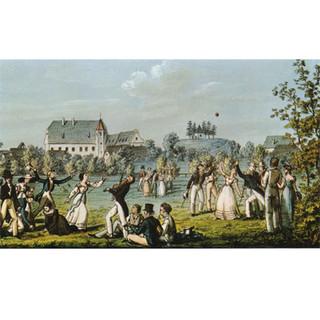 Schober, Schwind, Mohn: Atzenbrugger Ballspiel, c1823