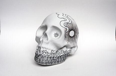Skull Sun Moon Stars