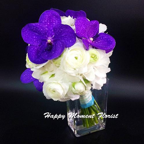 萬代蘭小牡丹結婚花球