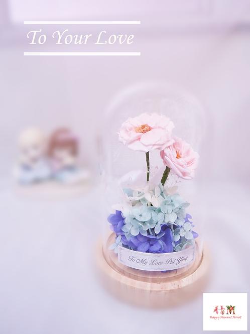 迷你Noisette玫瑰保鮮花