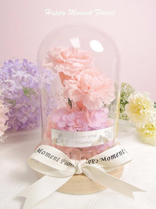 迷你粉色康乃馨保鮮花