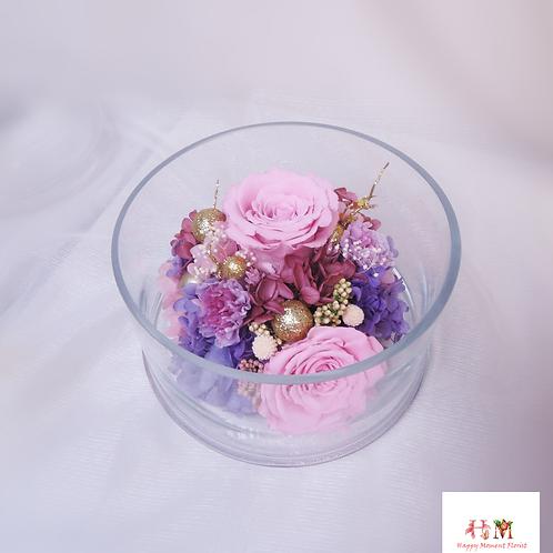保鮮花家居佈置Preserved Flower Arrangement