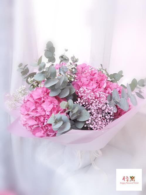 荷蘭繡球花束