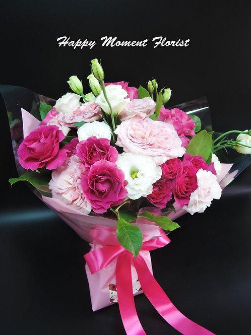 英國庭園玫瑰花束